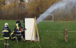 Ausbildungsprüfung Löscheinsatz 2011