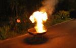 Feuerlöschtest 2010